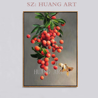 Still life fruit figures hand painted oil painting classic realism high quality through the living room corridor hall hallway wa