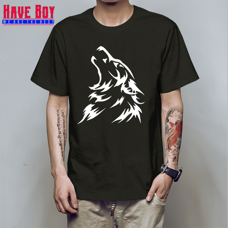 HAVE BOY HOUSE STARK Printed Mens Men T Shirt T-Shirt Fashion New Short Sleeve O Neck Cotton Tee Camisetas HB176