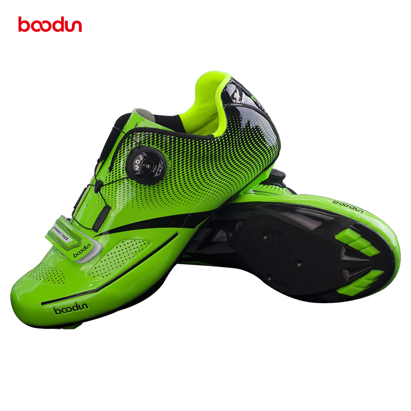 BOODUN new bike cycling shoes equipped with mens professional road lock shoes for MTB ciclismo bicycle shoes bike shoes