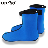 Free Shipping 3MM Neoprene Diving Scuba Surfing Swimming Socks Water Sports Snorkeling Boots