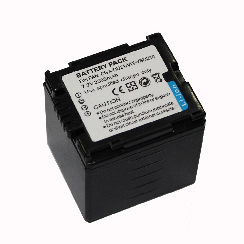 CGA-DU21 CGA DU21 VBD210 Camera Battery for Panasonic NV GS500 GS28 GS328 GS320 GS250 GS258 GS300 GS308 SDR H28 H250 H280 H288