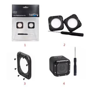 Image 4 - ل gopro الأصلي إطار العدسات البروتينية/UV غطاء العدسات الزجاجية/غطاء وأدوات ل Gopro Hero 5 جلسة 4 جلسة ملحقات الكاميرا