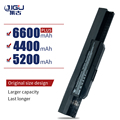 JIGU 6Cells Notebook Rechargeable Battery For ASUS K53 K53B K53BY K53E K53F K53J K53S K53SD K53SJ