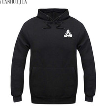 High Quality 2017 Mens Palace Skateboards Hoodies Male Cotton Triangle Sweat Palace Sweatshirt Palace Hoodies M-XXL