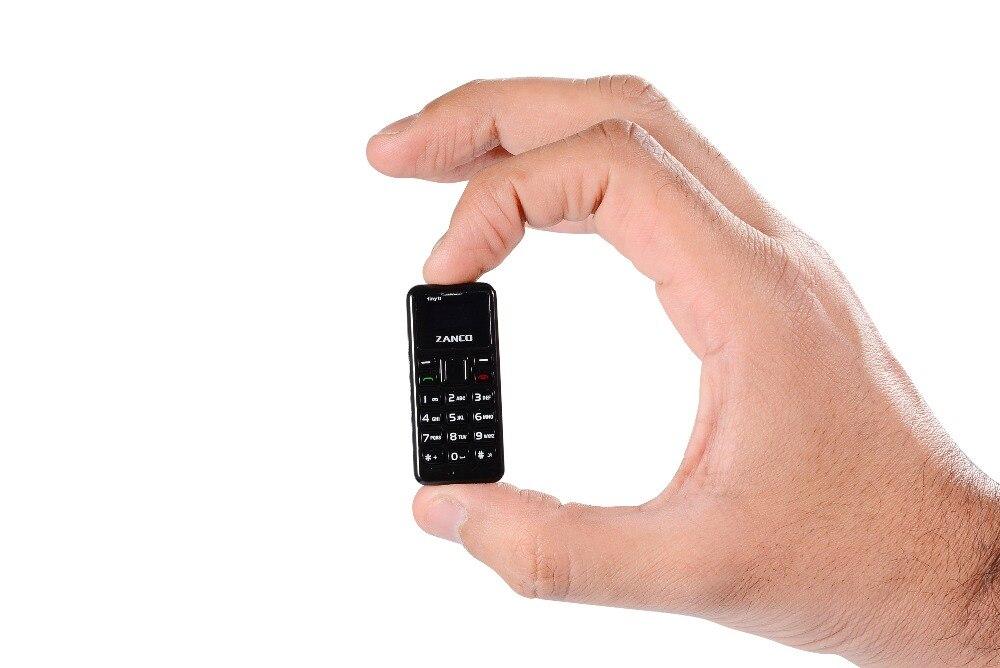 ZANCO minuscule T1 monde plus petit téléphone portable débloqué Mini téléphone Mobile de base pour les personnes âgées et les enfants - 5