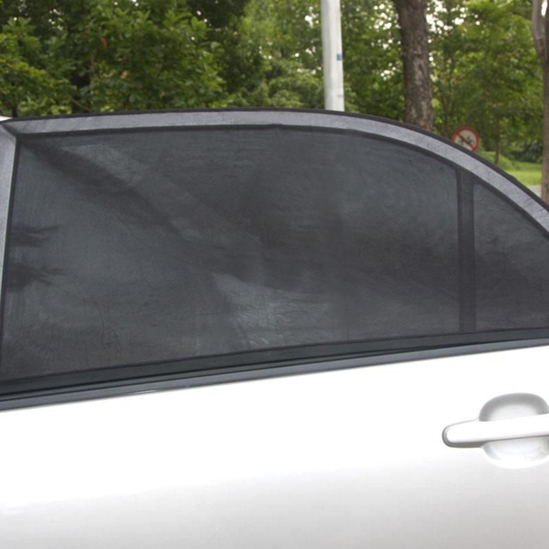 Encell Профессиональный регулируемый авто сбоку Защита от солнца на заднее стекло авто Защита от солнца Тенты Черные Сетчатые крышка автомоби...