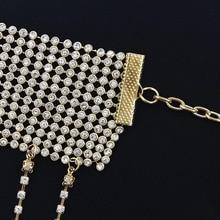 Sexy Crystal women's Dance Belly Waist Chain