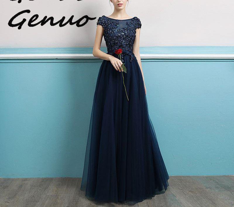 Genuo New 2019 Elegant Off Shoulder Strapless Glitter Backless Women Maxi Dresses Geometry Female Floor Length Party Dress