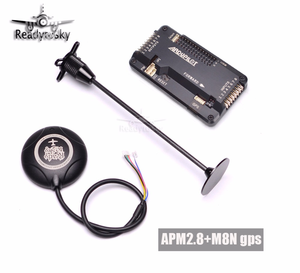 APM2.8 Flight Controller NEO-8N 8N GPS w/ Stand Holder for F450 S500 S550 F550 RC Quadcopter Multicopter f450 f330 f550 s500 s550 frame apm2 5 2 6 2 8 led lights navigation light for quadcopter multicopter 6 axis drone accessories page 3