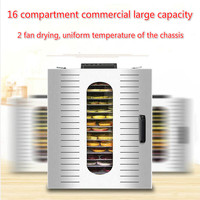 Large fruit Dryer food Household Fruit and vegetable Air dryer fruit tea Dried fruit machine Commercial dehydrator dried herbs