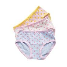3Pcs/Lot Cotton Panties Girls Kids Short Briefs Children Underwear Child thong Cartoon Shorts Underpants Girl