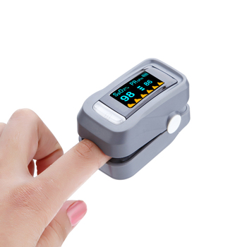 New portable home supplies fingertip pulse oximeter oxygen saturation finger blood pressure meter