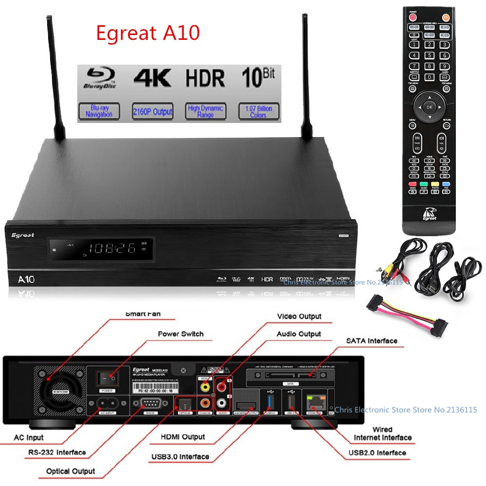 Original Egreat A10 TV BOX Hi3798C V200 CPU Android 5.1.1 ...