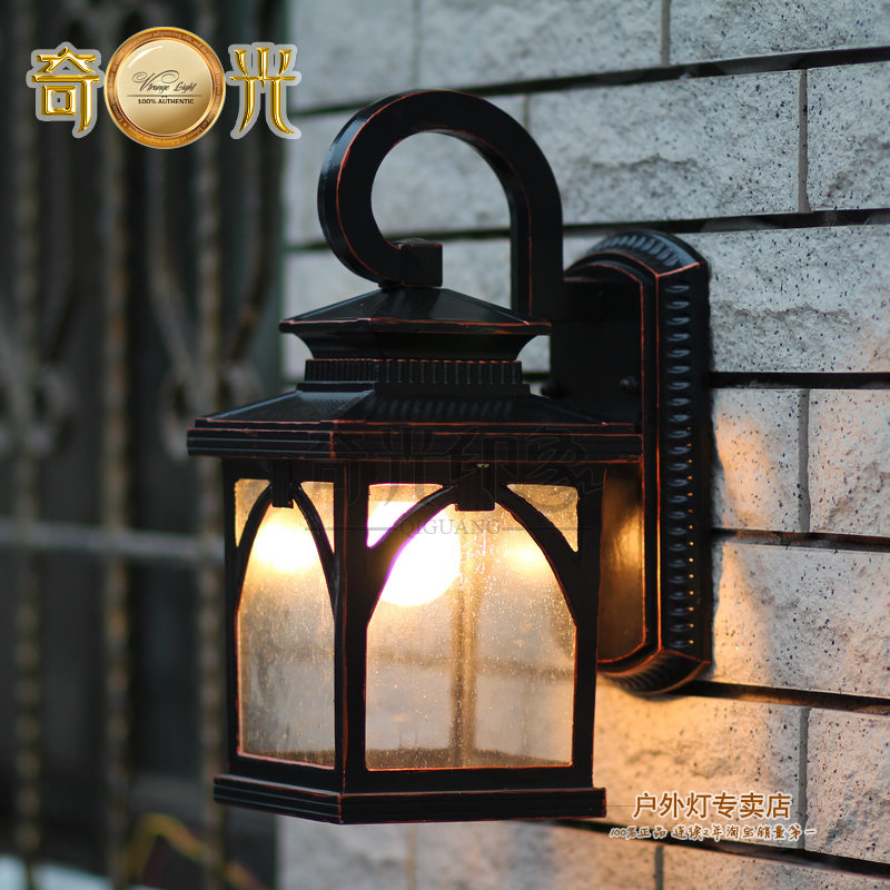 Wall lamp vintage outdoor garden lights wall lights for Applique exterieur vintage