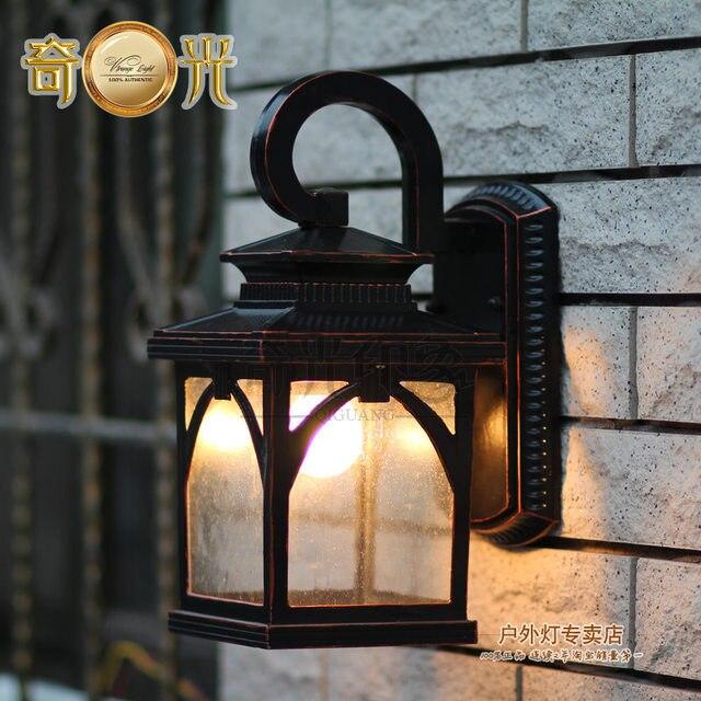 Wall Lamp Vintage Outdoor Garden Lights Wall Lights Waterproof Balcony  Gazebo Wall Mounted Lamp Light