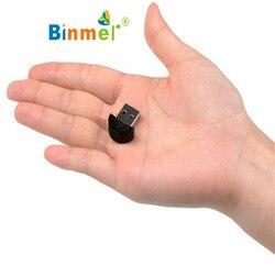 Ecosin2 Новый мини USB Bluetooth ключ адаптер для портативных ПК Win Xp Win7 8 для iPhone 4GS 5GS Прямая доставка подарок 17mar22