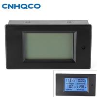 CNHQCO DC 100V 20A LCD Display Digital Current Voltage Power Energy Meter Multimeter Ammeter Voltmeter With