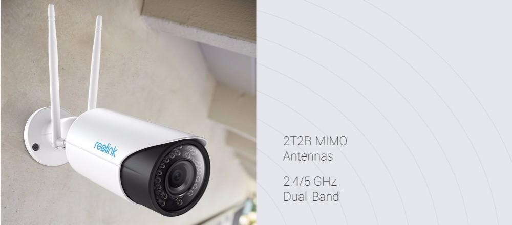 reolink widows беспроводной доступ в интернет 2.4 г/5 г в HD 5Мп сумма СД карты автофокус видеонаблюдения безопасности нет вид бассейн и IP камера с rlc-411ws