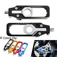 NICECNC Motorcycle CNC Rear Axle Chain Adjuster Tensioners For BMW S1000R S1000RR S 1000R 1000RR S 1000 RR HP4 2009 2017