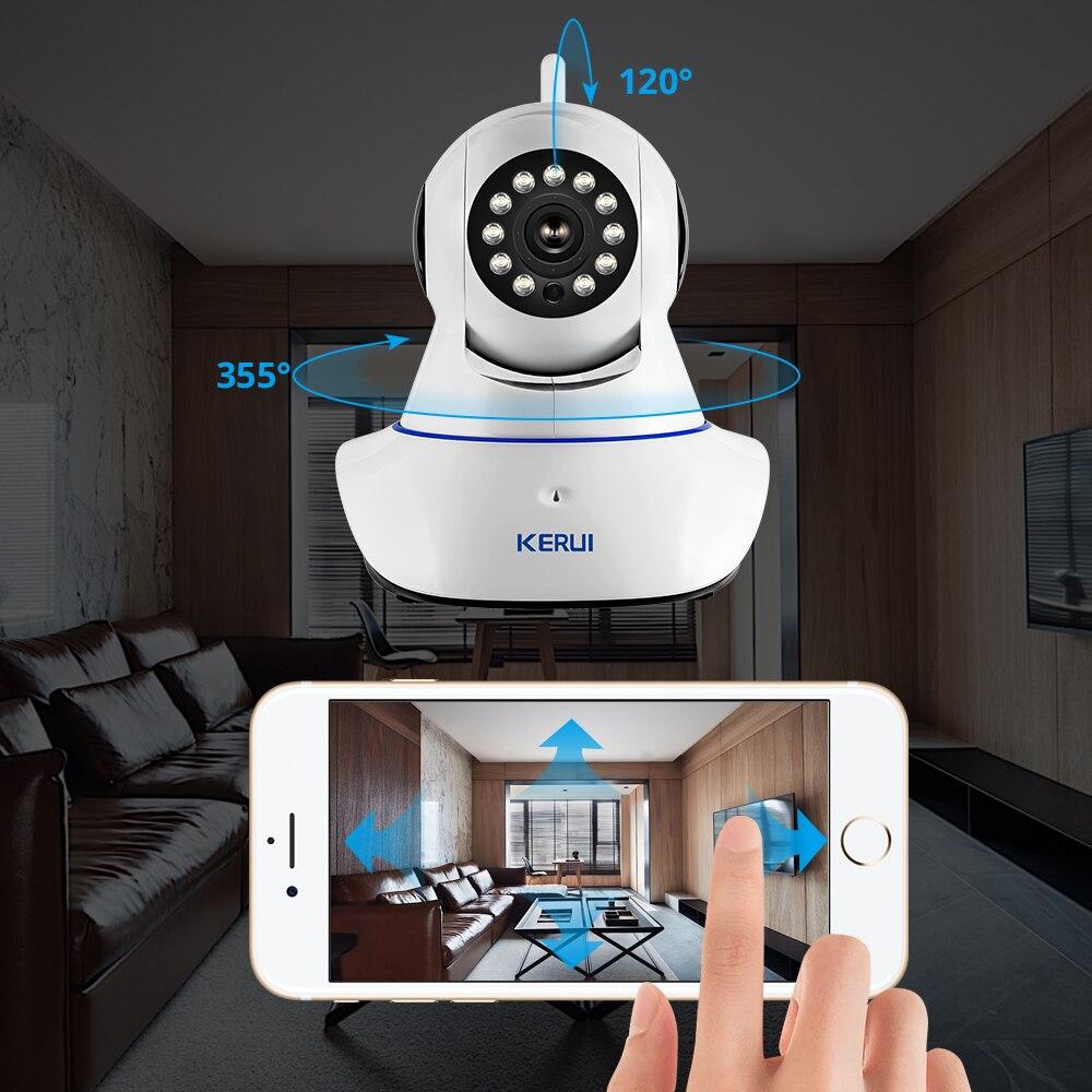Rusia Entrega KERUI Wireless 720P HD WiFi Cámara IP Cámara web - Seguridad y protección - foto 6