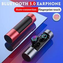X8 Touch Control TWS Bluetooth 5.0 écouteur Mini jumeaux sans fil écouteurs stéréo casque avec Microphone IPX7 étanche écouteurs