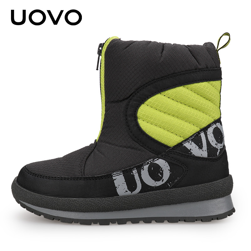 a418d7458e278 ... UOVO 2018 New Winter Shoes For Boys And Girls High Quality Fashion Kids  Winter Boots Warm ...