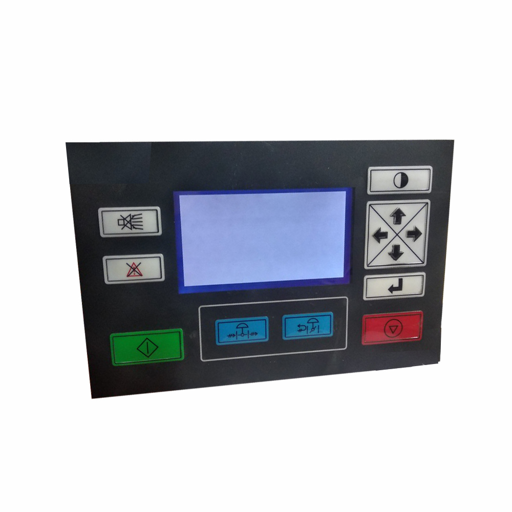 Replaces controller panel for Ingersoll Rand centrifugal air compressor CMC user terminal interface 22110399 22110423 22110415Replaces controller panel for Ingersoll Rand centrifugal air compressor CMC user terminal interface 22110399 22110423 22110415