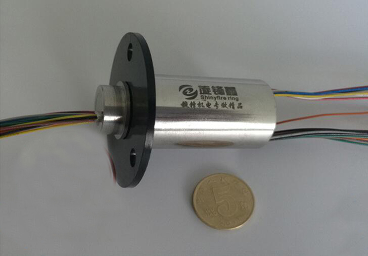 6/12/18/24/30/36/42 Channel 2A Capsule Slip Ring 20mm Dia. 2A 240V DC/AC High Speed Slip Ring Metal Shell Conductive Slipring m slipring pass hole slip ring hole diameter 5mm 2 4 6 12 channel 2a 7mm 4 6 channel electric slip ring hollow shaft slip ring