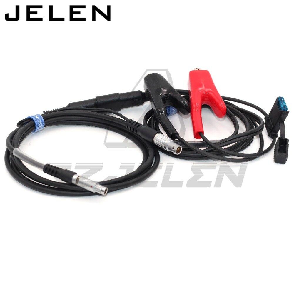 Connctor FGG 1B 5pin zu Fi 7pin für Topcon GPS Interface Kabel für Topcon GPS zu Pacific Crest PDL HPB a00630 TYP