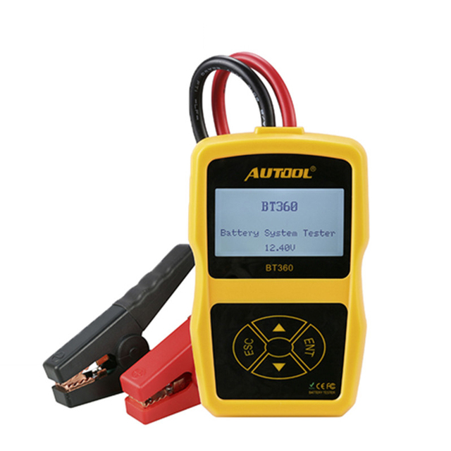 Best Price AUTOOL BT360 Battery Testers  BT Box Diagnostic Tool Bt460 Diagnostic Scanner For Car Multi-Languages BAD Cell Test Tools