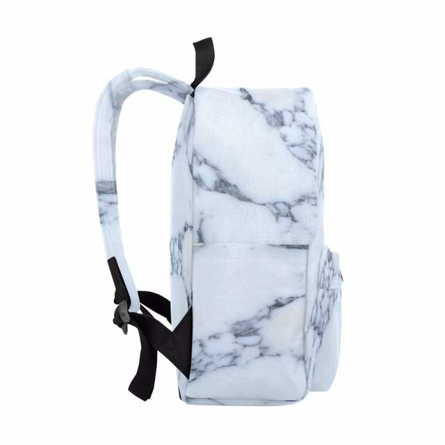 8d0d4f5eb3b Men Canvas Backpack Marble Texture Women Bags Book Bag Men Backpack Travel  Daypack School Children Learning Bag 14Inch Laptopbag-in Backpacks from  Luggage ...