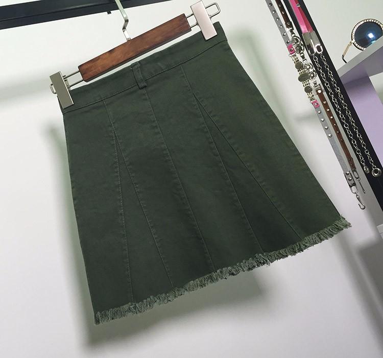 HTB1roiaOVXXXXXiXXXXq6xXFXXXV - American Apparel button Denim Skirt JKP265