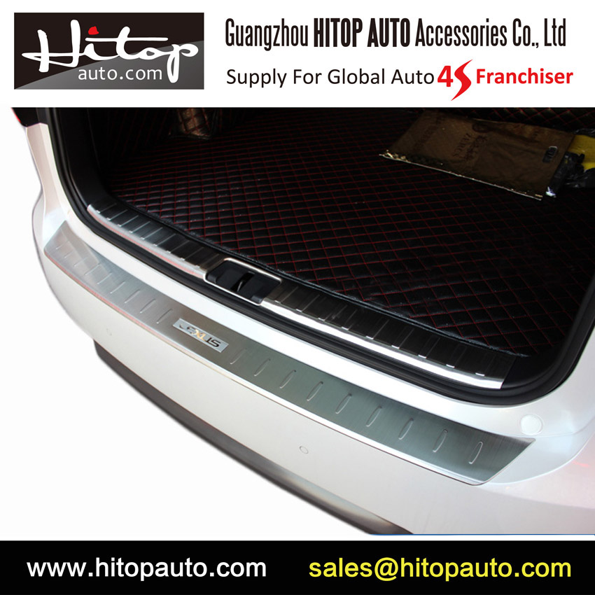 for lexus rx 2016 2017 rx200t rx450h rx350 rear bumper protection door sill scuff plate purified. Black Bedroom Furniture Sets. Home Design Ideas