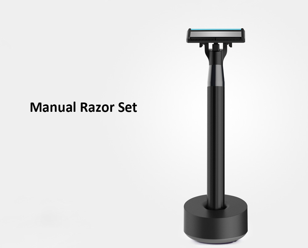 H300 - 6 5-layer Blade Manual Razor Set with 3 Cutter Heads from Xiaomi Youpin