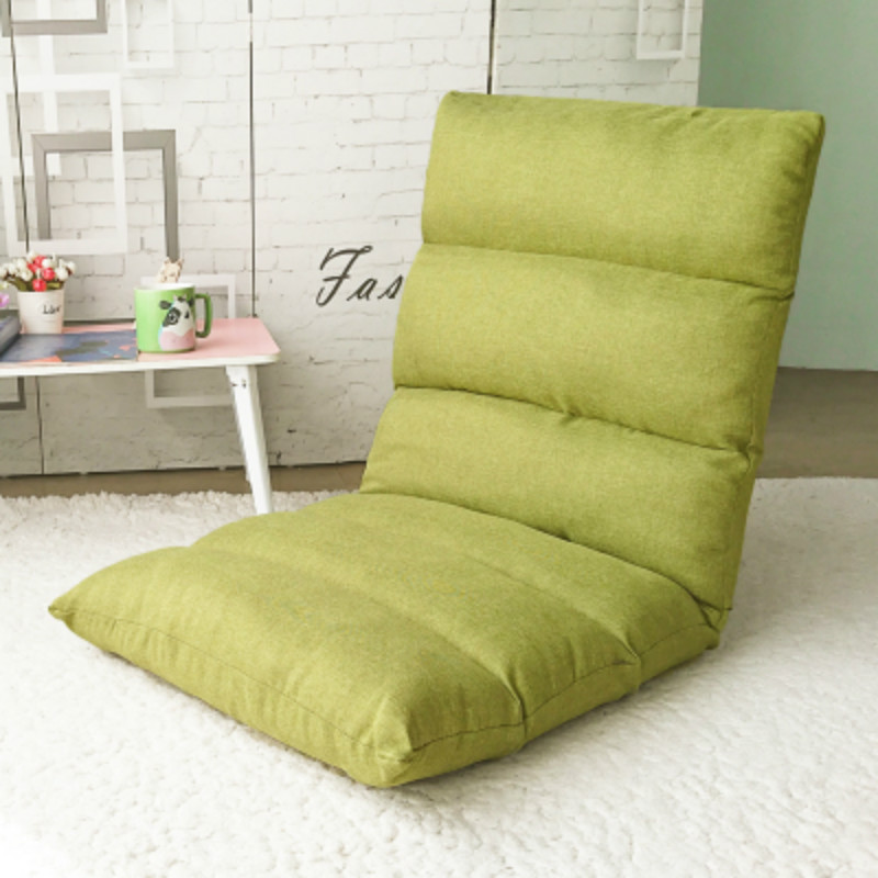 Bedroom Balcony Single Tatami Lounge Sofa Collapsible with Backrest Floor Chair Small Sofa Bed Thicken Breathable Soft Lazy Sofa small house design single seater sofa bed