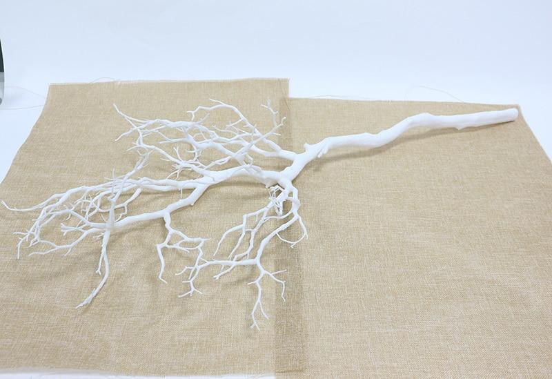 Искусственные цветы Коралловая ветвь искусственный цветок имитация букета растение большая ветка дерева Свадебные вечерние украшения для дома DIY - Цвет: B