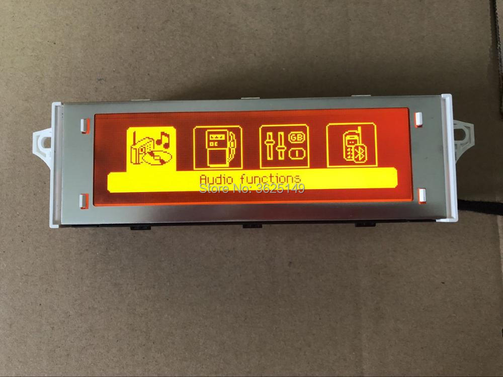 Original Red Screen support French USB Bluetooth Display Monitor 12pin for Peugeot 307 207 408 citroen