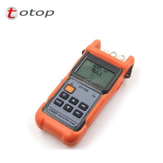 FTTX portable CY-190 SM OTDR Otdr Machine Fiber Optic OTDR Visual Fault LocationOptical Time Domain Reflectometer OTDR Tester