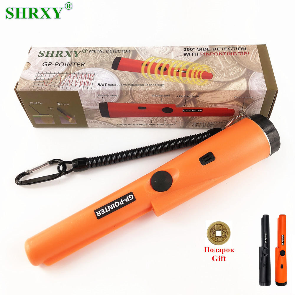 2018 NOUVEAU orange couleur pro Pinpointing détecteur de métaux GP-pointeur or détecteur de métaux Statique d'alarme avec Bracelet livraison gratuite