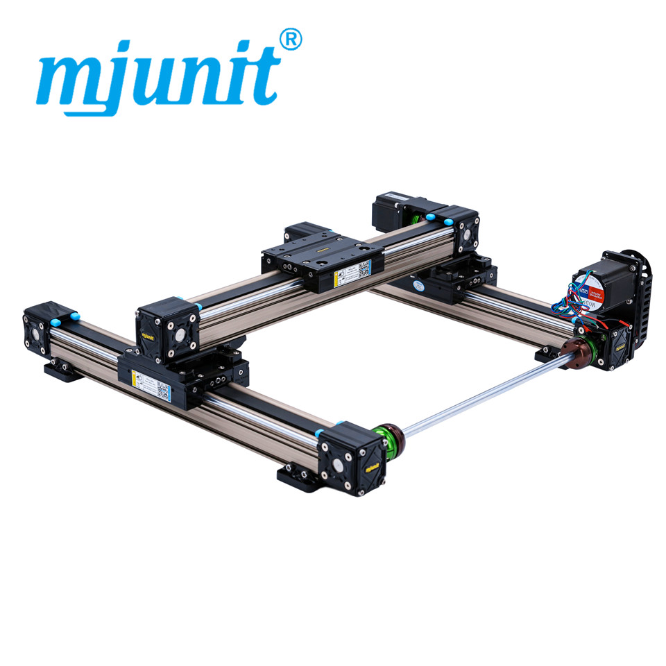 mjunit MJ50 xy China hot sale cnc linear guide rail low price with 600x400mm stroke flat