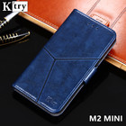 K'try For Meizu M2 mini Case Cover Luxury Leather Wallet Case For Meizu M2 mini M2mini 5.0'' Phone Cover Flip Style with Stand