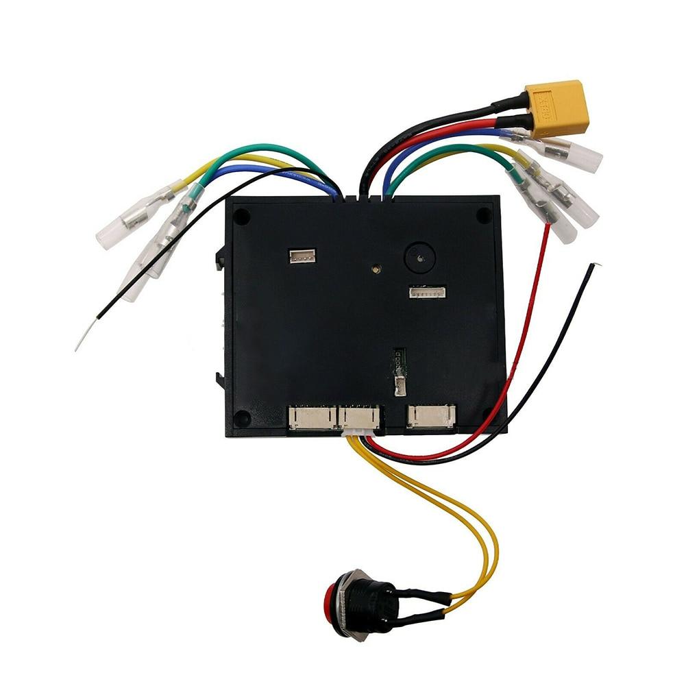 Dispositif Scooter électrique basse vitesse accessoires pièces à distance sans fil Instrument planche à roulettes contrôleur outils sans brosse double moteurs - 4