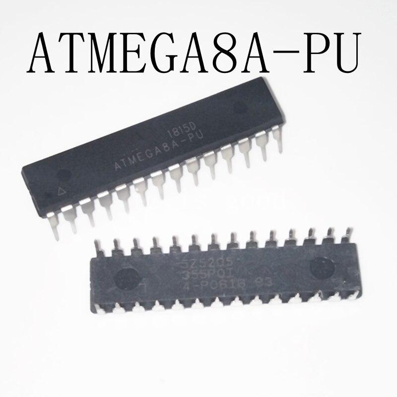 1pcs lot ATMEGA8A PU 8K 16MHZ 28 PDIP ATMEGA8A 8 ATMEGA8 8A ATMEGA 8A