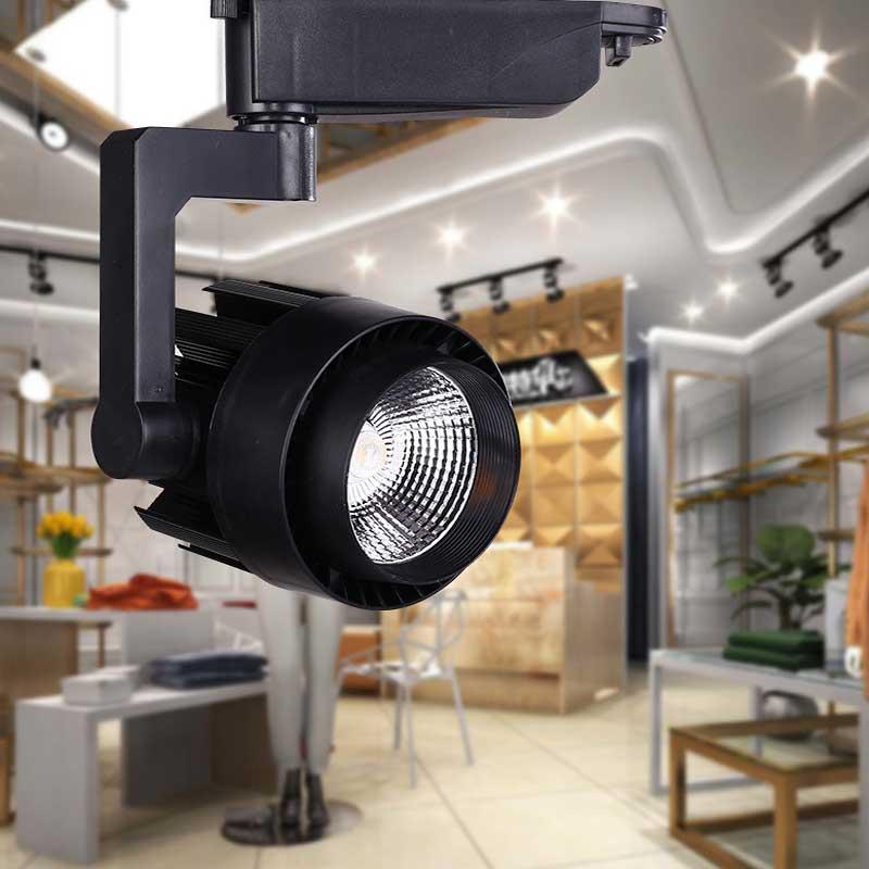 Aliexpress.com : Buy LED Track Light 15W 30W COB Ceiling