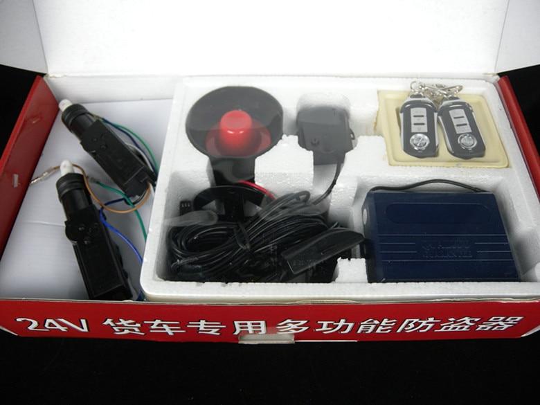 Anti-theft system 24V NW129 Truck Alarm Security System Remote control 3502080 canemu anti theft simulator