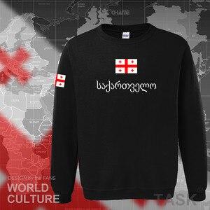 Image 3 - Georgia hoodie mannen sweatshirt zweet nieuwe hip hop streetwear trainingspak natie voetballer sporting land vlag GEO Georgische