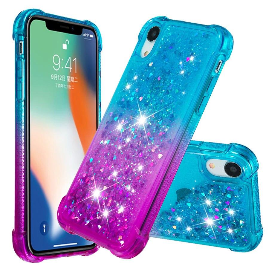 iphone xr Glitter Case (1)