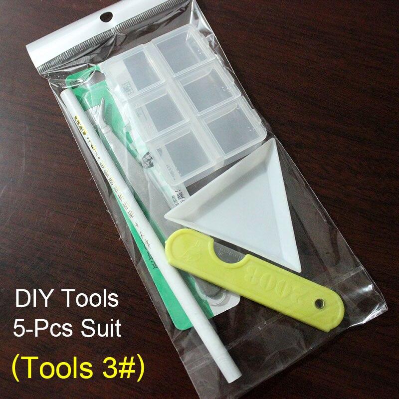 30/100 шт./лот ногтей Стразы 3x5 мм Flatback ромб с цветными камнями для 3D нейл-арта украшения - Цвет: Tools 3