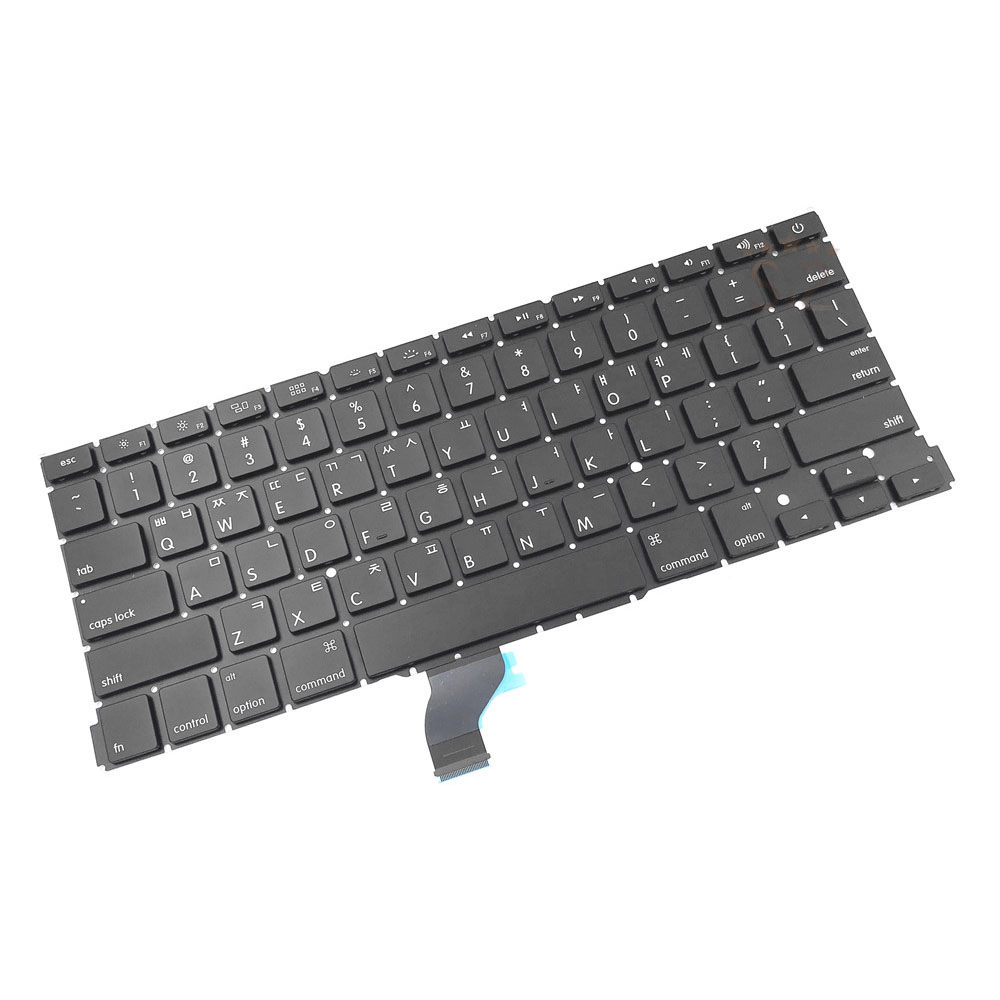 Tested Working A1502 Korea Keyboard For Macbook Pro 13 A1502 Keyboard 2013 2014 2015 image