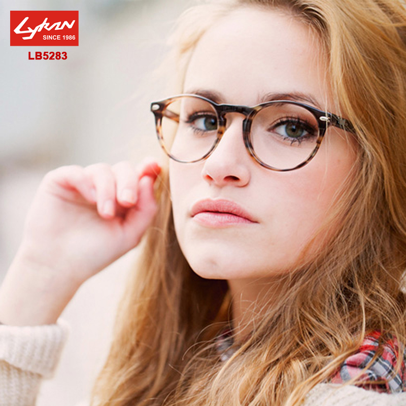 3496c92951 Brand Round Metal Frame Glasses LB5283 Vintage Eyewear Frames For Women Men Prescription  Glasses Optical Lenses Eyeglasses-in Eyewear Frames from Apparel ...